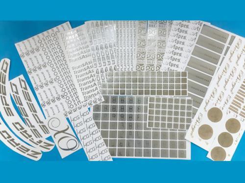 金屬薄膜貼紙